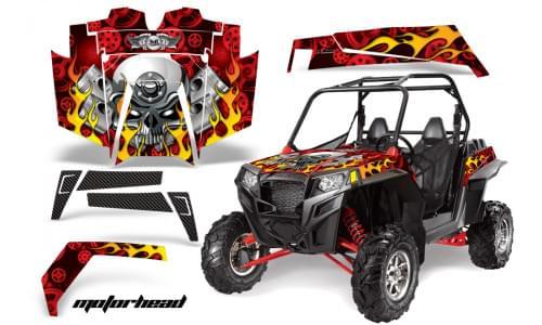 Комплект графики AMR Racing Motorhead (RZR900XP)