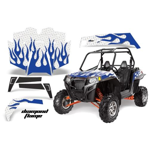 Комплект графики AMR Racing Diamond Flame (RZR900X...