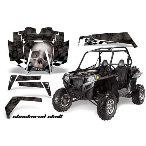 Комплект графики AMR Racing Checkered Skull (RZR90...