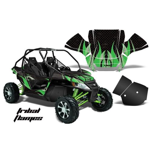 Комплект графики AMR Racing Tribal Flames (Wildcat...