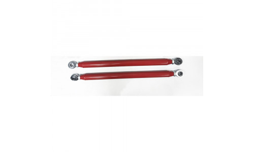Комплект задних усиленных гнутых верхних красных рычагов Polaris RZR XP 900 2011-2014 1542940-293