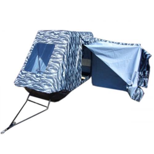 Сани Классика 180 с палаткой рыбака...
