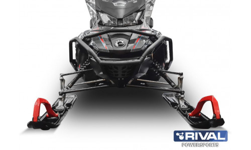 Бампер передний с боковой защитой BRP LYNX 49 RANGER (RADIEN 16″) (2019-) / SKI-DOO EXPEDITION SPORT/GRAND TOURING (G4 WIDE 16″)