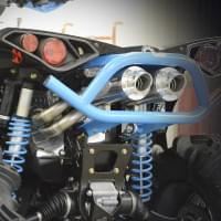 Глушитель RJWC двойной квадроцикла Can-Am Renegade..