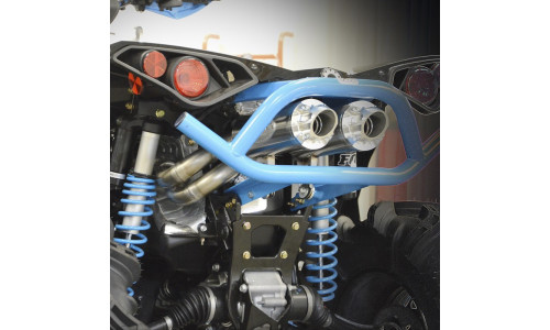 Глушитель RJWC двойной квадроцикла Can-Am Renegade XMR 1000