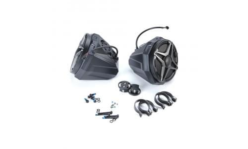 Музыкальная акустическая система 750Ватт для крепления на трубу UTV /SSV SSV WORKS US2-C65A/200A