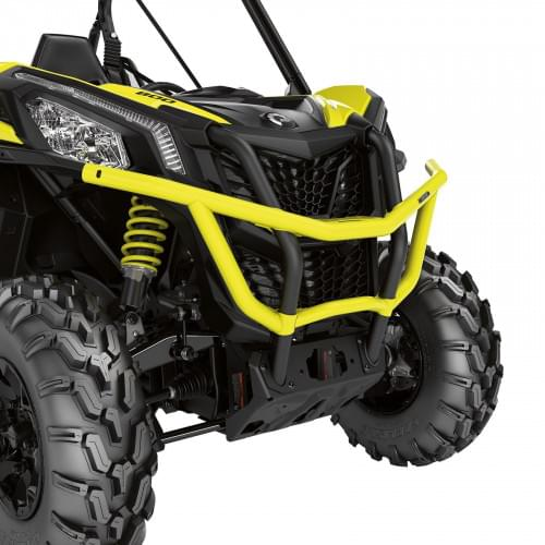 Передний бампер (жёлтый) для Can am Maverick Trail/Sport 715003681