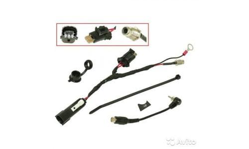Комплект электрообогрева визора для платформы  BRP Lynx RADIEN / RADIEN-X 860201283