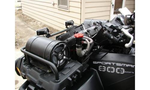 Offroadsoundsystems музыкальная система Relocated Radiator Kit