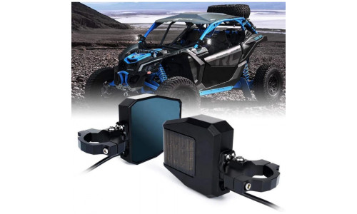 Комплект зеркал с доп освещением для UTV /SXS /SSV CAN-AM MAVERICK X3 /COMMANDER /DEFENDER /POLARIS RZR /RS1 /YAMAHA VIKING /YXZ1000 /WOLVERINE CF Z10 /Z8