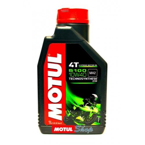 Моторное масло полусинтетика Motul 5100 Ester 4T 1...