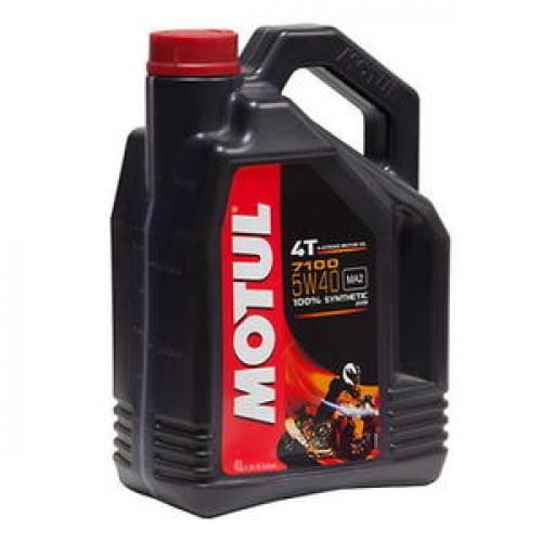 Моторное масло синтетическое Motul 7100 Ester 4T 5...