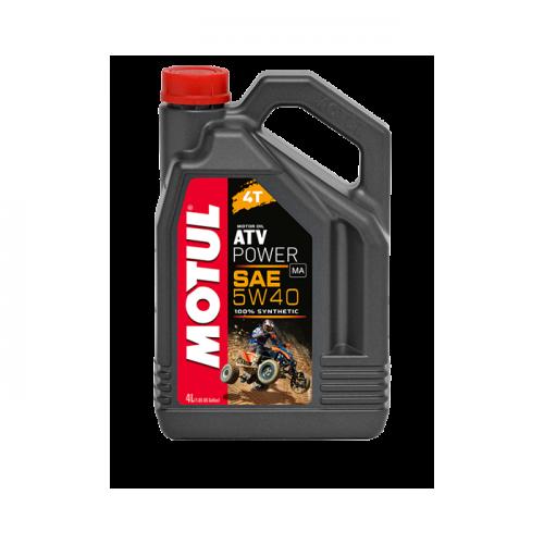 Моторное масло синтетическое Motul ATV Power 5W40 ...
