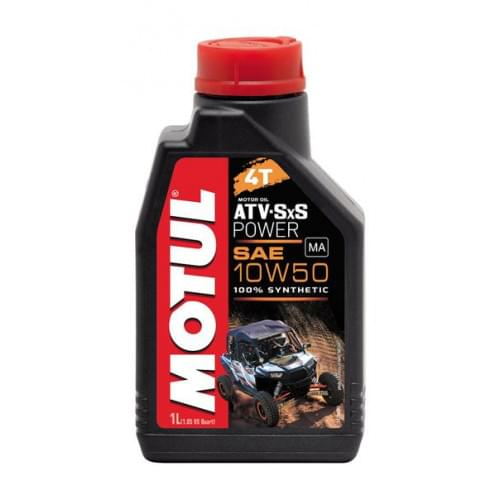 Моторное масло синтетическое Motul ATV SXS Power 4...