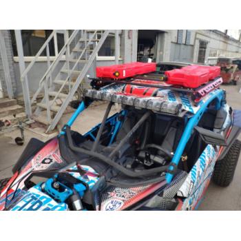 Багажник на крышу (красный) для Can-Am (BRP) Maver...