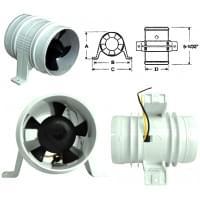 Вентилятор охлаждения шноркелей (Турбина на шнорке..