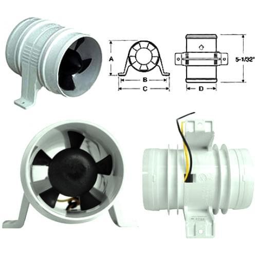 Вентилятор охлаждения шноркелей (Турбина на шнорке...