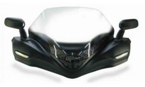 Ветровое стекло Vip-air Deluxe матовое для Grizzly 700