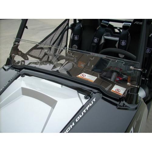 Стекло лобовое 1/2 для Polaris RZR 570/800/900...