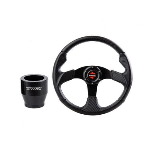 Спортивный карбоновый руль TUSK универсальный для ...