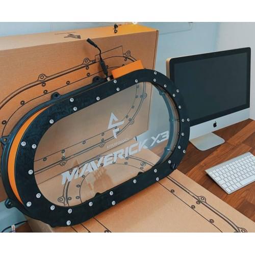 Прозрачная крышка вариатора для Can am Maverick X3