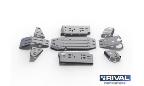 Комплект защиты днища ATV CF MOTO Х6 (2011-)