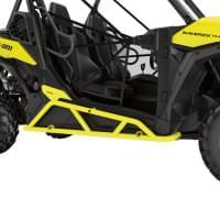 Защита порогов (жёлтая) для Can am Maverick Trail/..