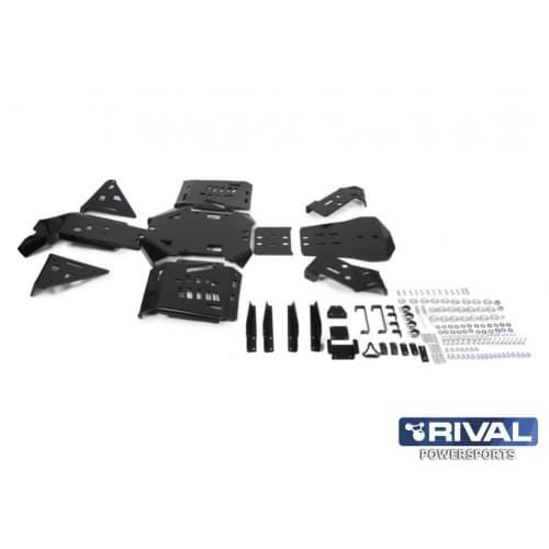 Комплект пластиковой защиты днища для Can am Outlander L 450, 500 (2015+)