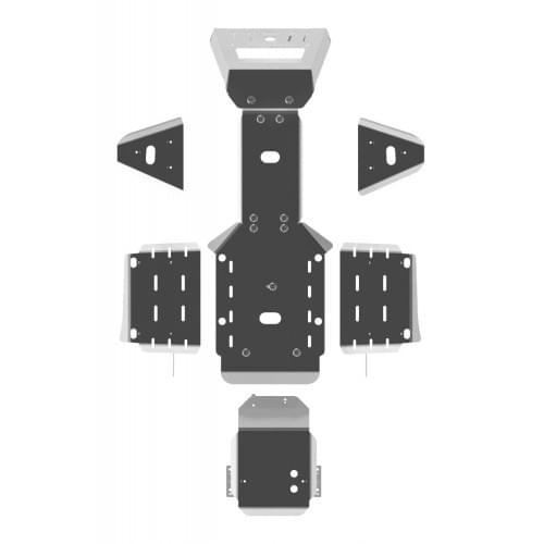 Комплект защиты для Kymco MXU 500 (2008+)...