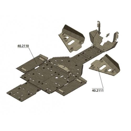 Комплект защиты днища для Commander 800/1000 (2011...