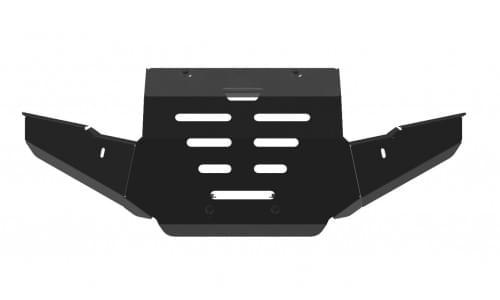 Силовой бампер (чёрный) для квадроцикла Yamaha Grizzly 550/700