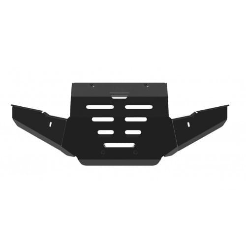 Силовой бампер (чёрный) для квадроцикла Yamaha Gri...