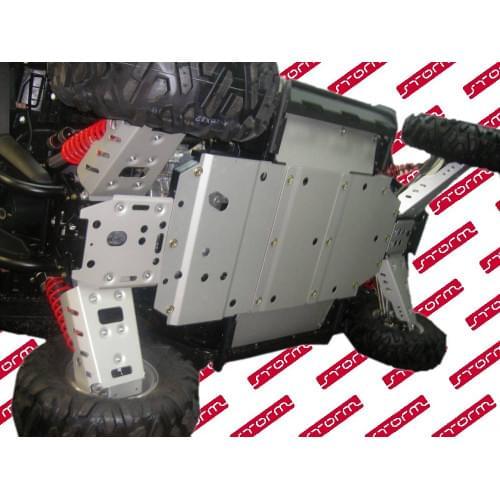 Комплект защиты днища для POLARIS RZR/RZR-S 800...
