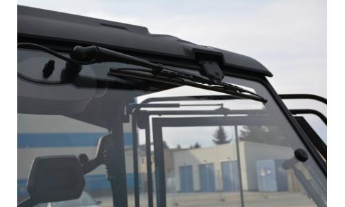 Передняя панель + стеклоомыватель и стеклоочиститель на Can-Am Defender