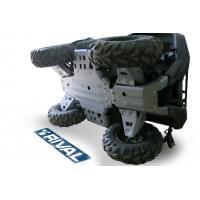 Полный комплект защиты днища для Yamaha Grizzly 70..
