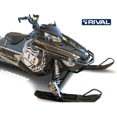Бампер передний для снегохода Polaris Pro RMK 2011...