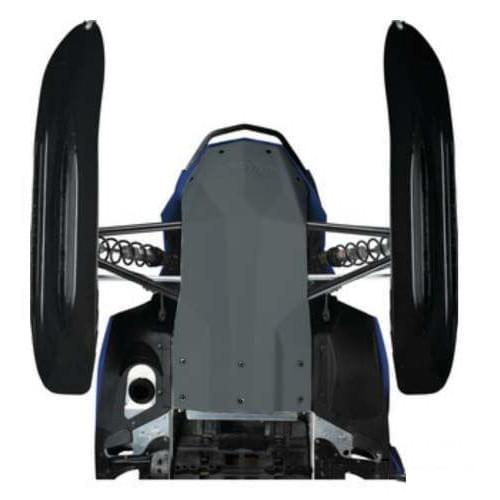Защита днища оригинальная черная Ski Doo Rev-XR 86...