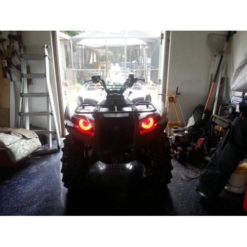 Ангельские глазки красные Yamaha Grizzly 550/700...