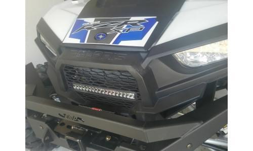 Решетка радиатора с фарой для Polaris RZR 1000