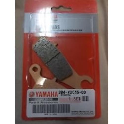 Колодки тормозные правые передние YAMAHA 3B4-W0045-00-00