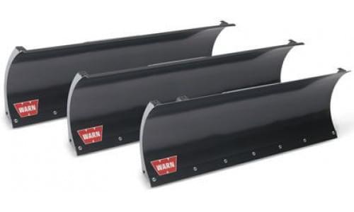 Полный комплект снегоотвала Warn черный прямой (150см) для ATV