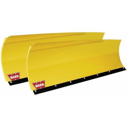 Полный комплект снегоотвала Warn желтый для ATV...