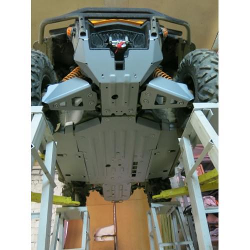 Комплект защиты днища для Can-Am Commander 1000 XT-P 2015+