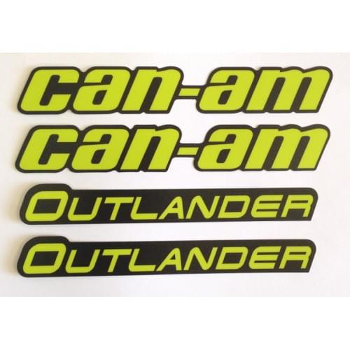 Наклейки расширителей арок Can Am BRP Digital Camo...